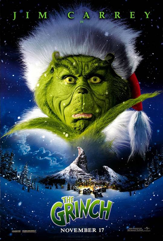 Dr. Seuss' How The Grinch Stole Christmas Large Poster
