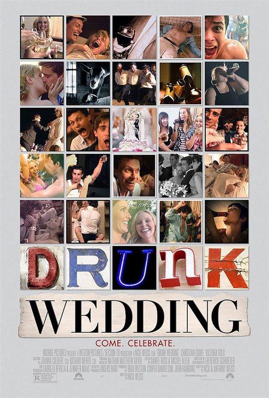 Drunk Wedding Large Poster