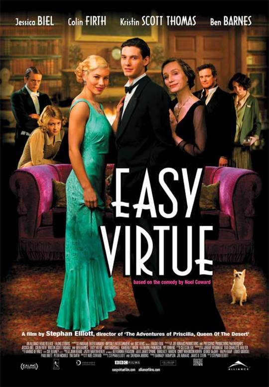 Easy Virtue Large Poster