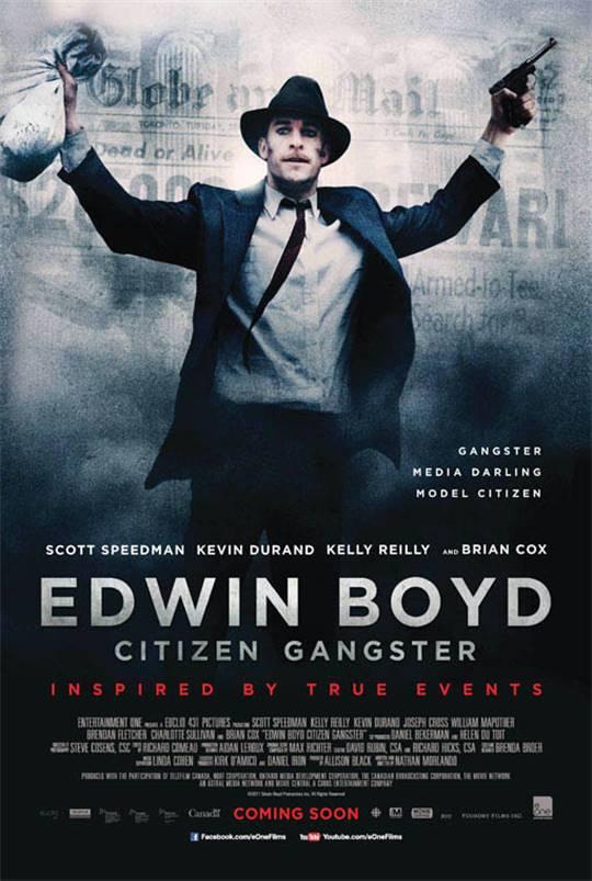 Edwin Boyd: Citizen Gangster Large Poster