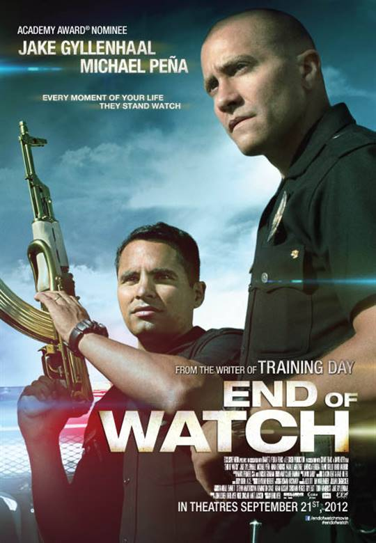End of Watch Large Poster