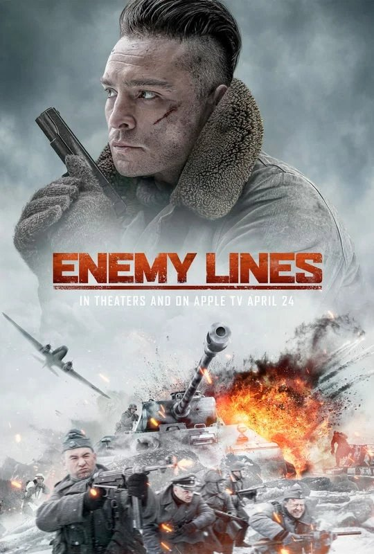 Enemy Lines Large Poster