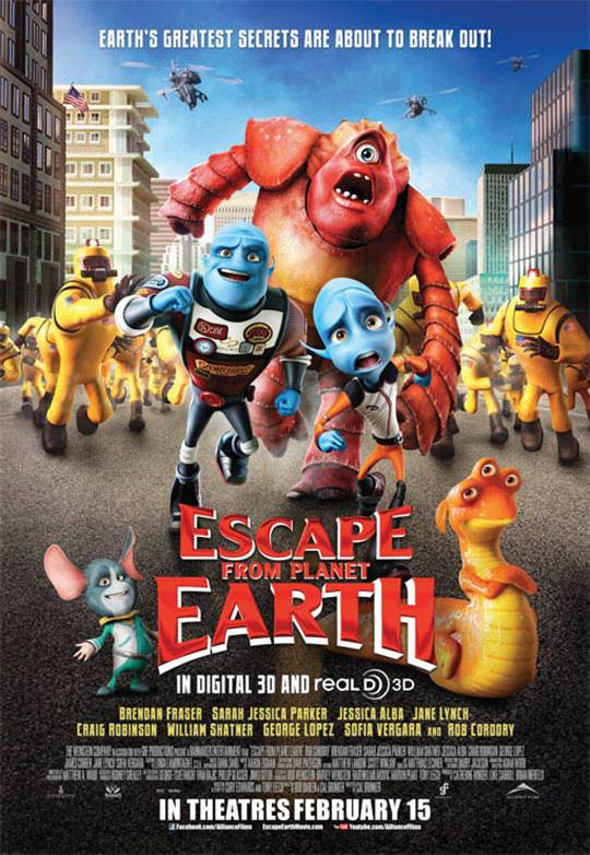 Escape From Planet Earth  Large Poster