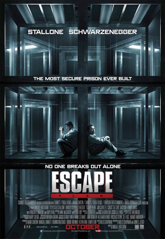 Escape Plan Large Poster
