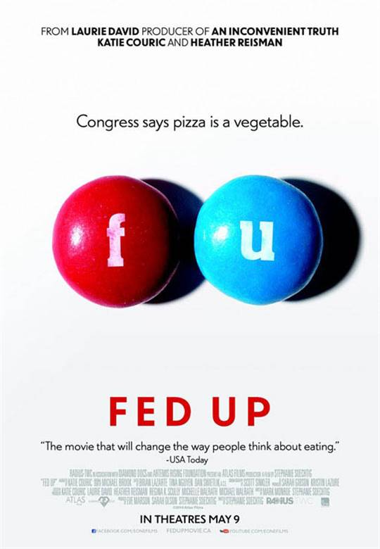 Fed Up Large Poster