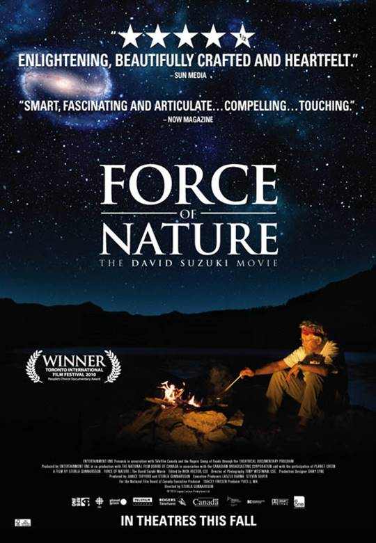Force of Nature: The David Suzuki Movie Large Poster
