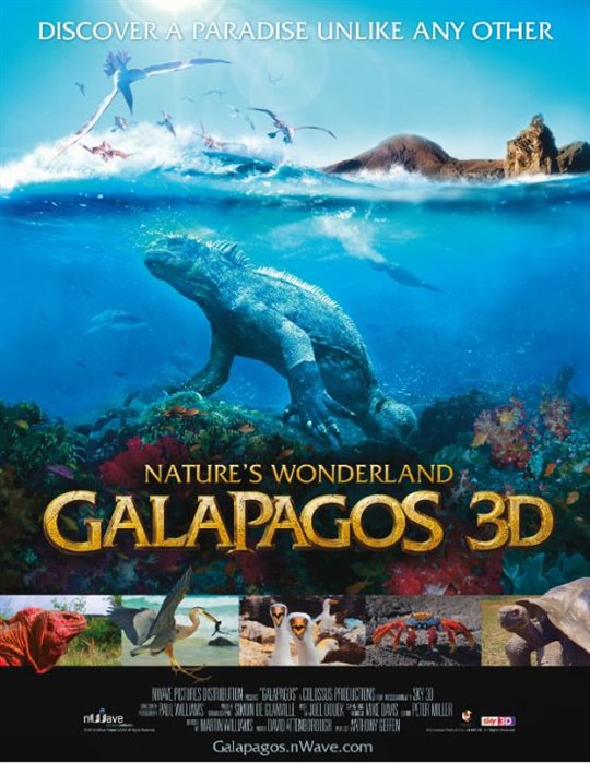 Galapagos: Nature's Wonderland Large Poster
