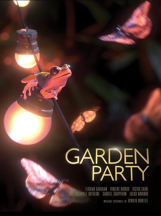 Garden Party Large Poster
