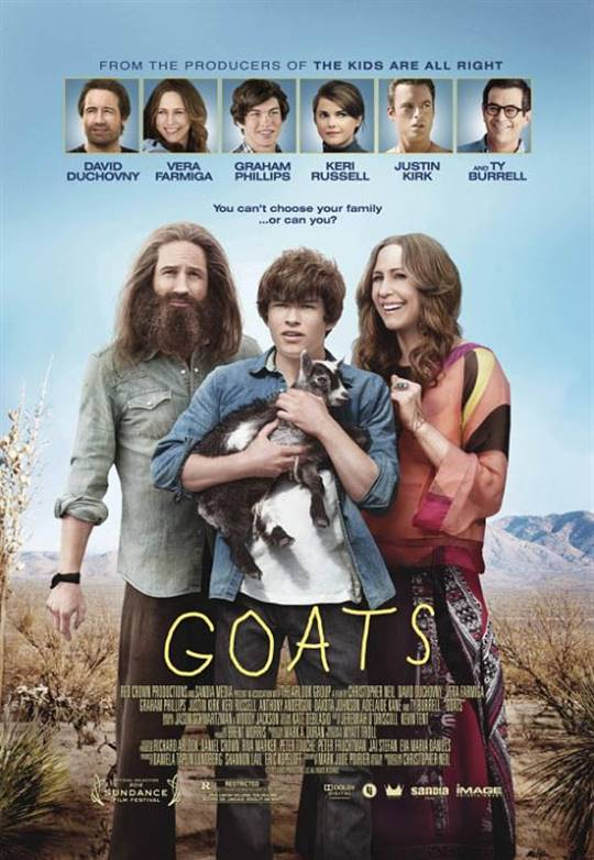 Goats Large Poster