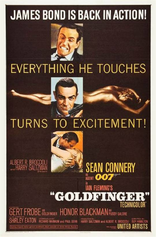 Goldfinger Large Poster