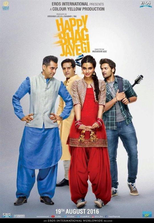 Happy Bhag Jayegi Large Poster