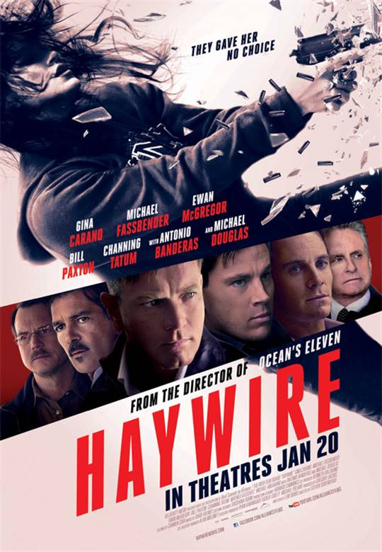 Haywire Large Poster