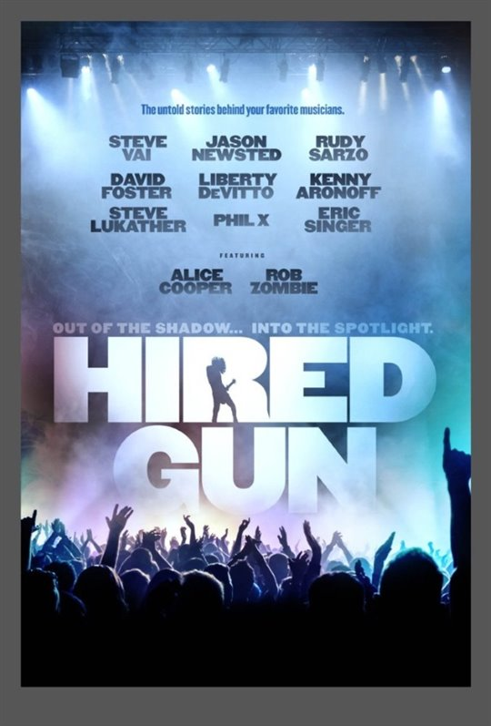 Hired Gun Large Poster