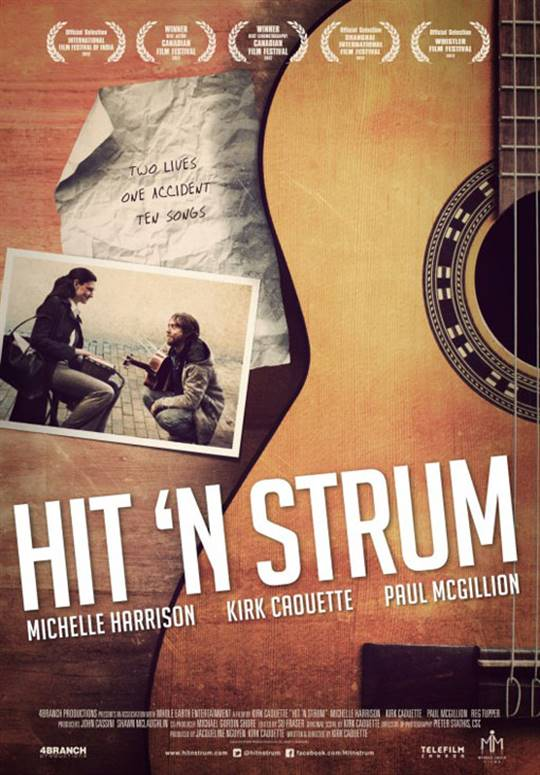 Hit 'n Strum Large Poster
