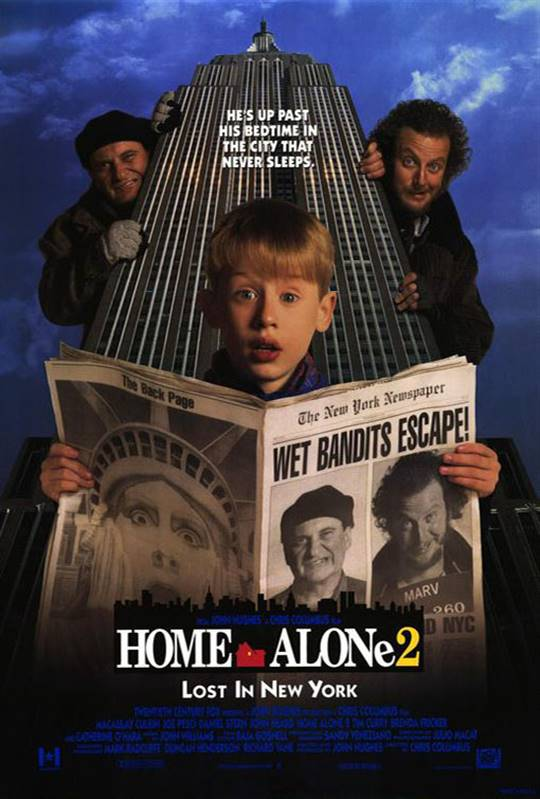 Home Alone 2: Lost in New York Large Poster