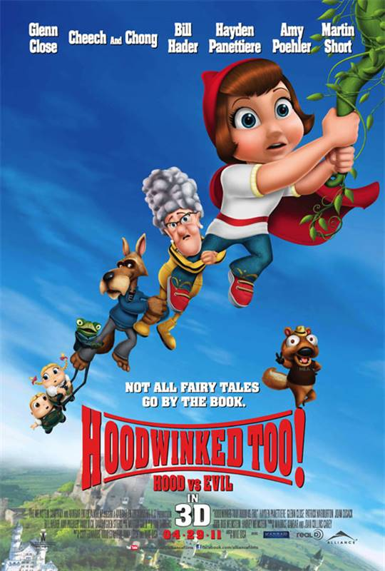Hoodwinked Too: Hood vs. Evil 3D Large Poster