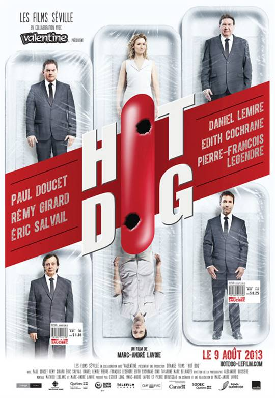 Hot Dog Large Poster