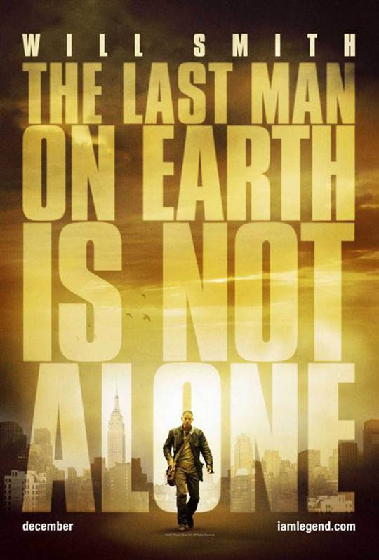 I Am Legend Large Poster