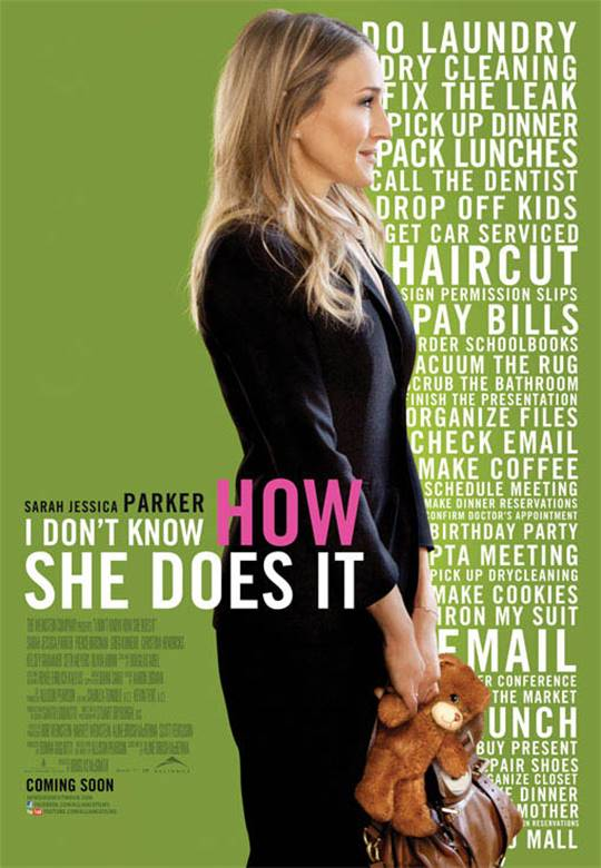 I Don't Know How She Does It Large Poster
