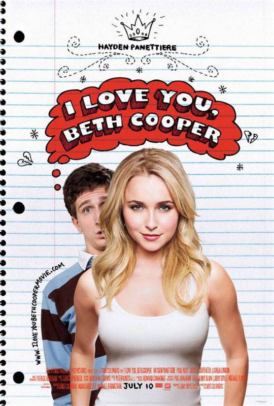 I Love You, Beth Cooper Large Poster