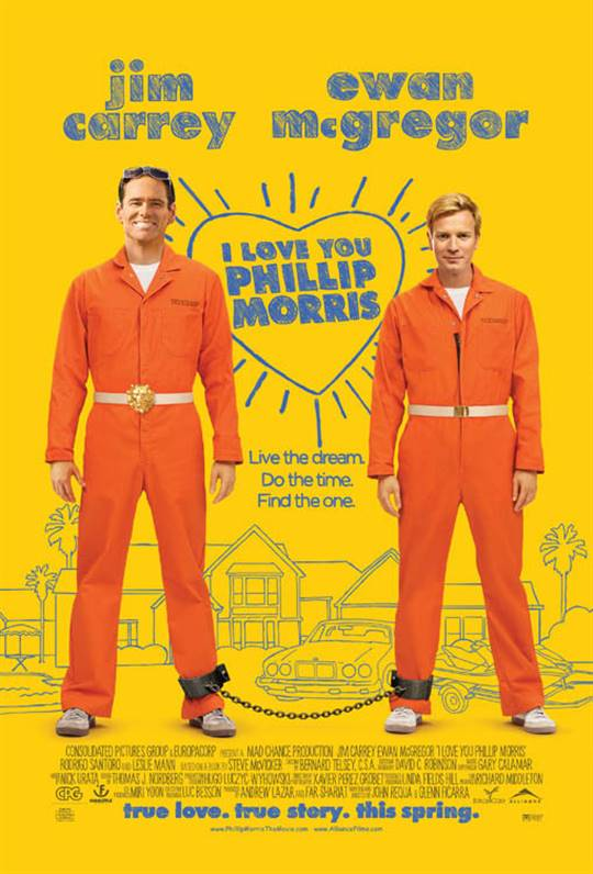 I Love You Phillip Morris Large Poster