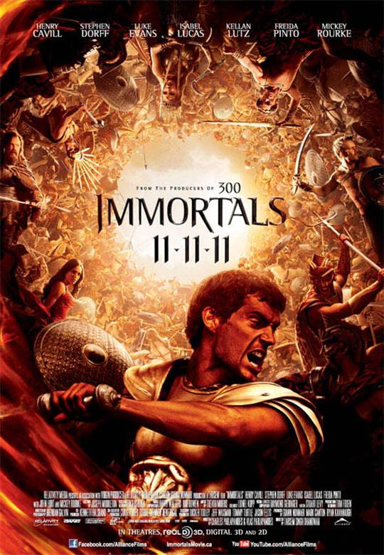 Immortals Large Poster