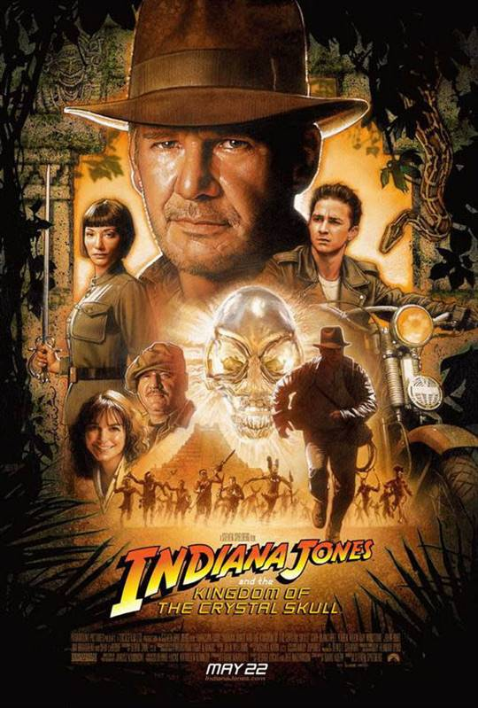 Indiana Jones and the Kingdom of the Crystal Skull Large Poster