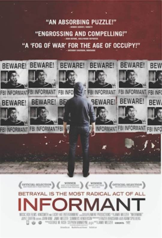 Informant Large Poster