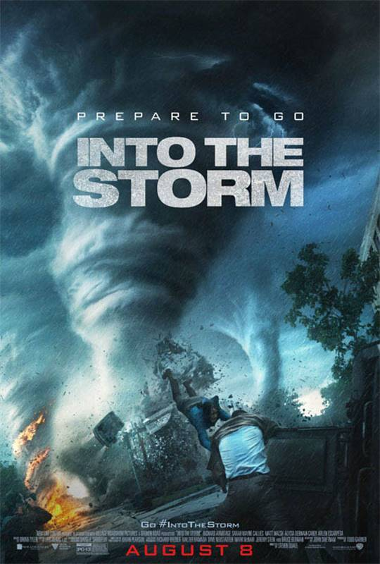 Into the Storm Large Poster
