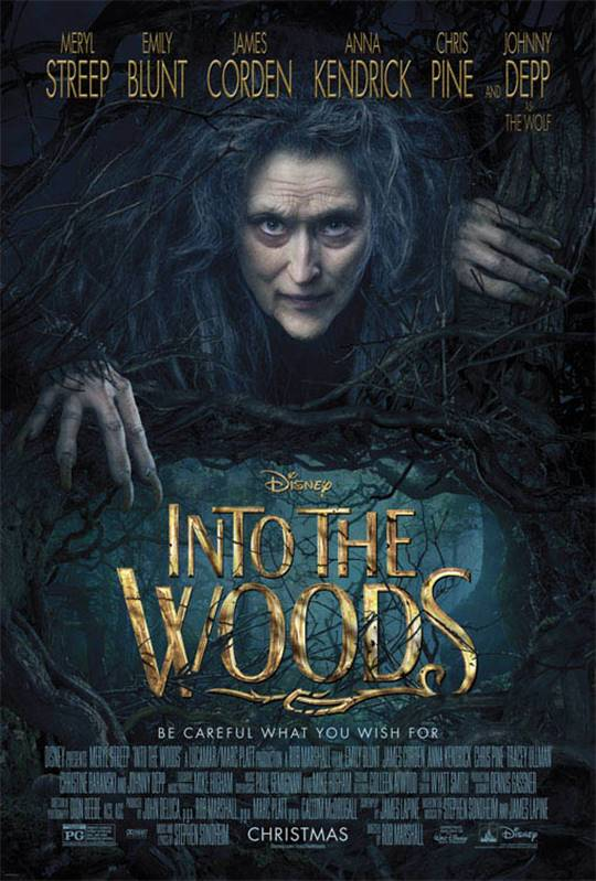 Into the Woods Large Poster