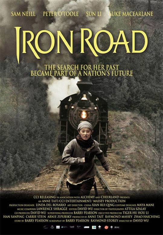 Iron Road Large Poster