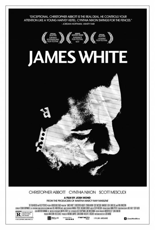 James White Large Poster
