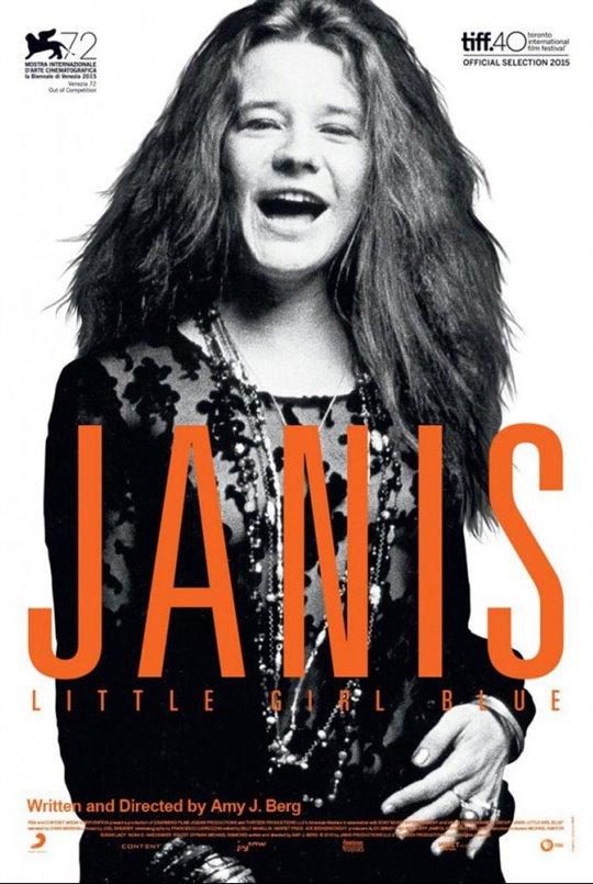 Janis: Little Girl Blue Large Poster