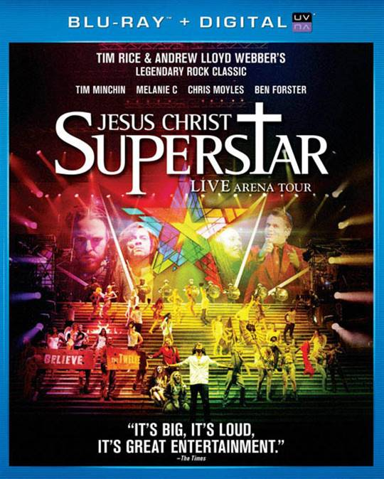 Jesus Christ Superstar Live Arena Tour Large Poster