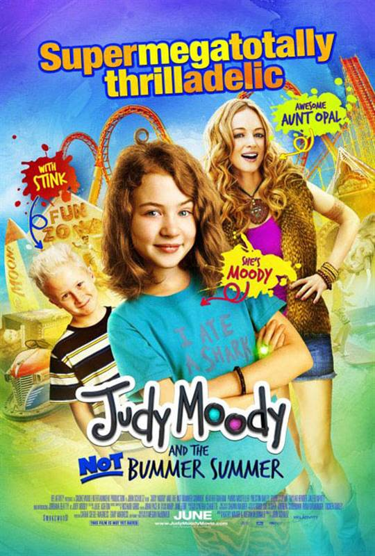 Judy Moody and the NOT Bummer Summer Large Poster