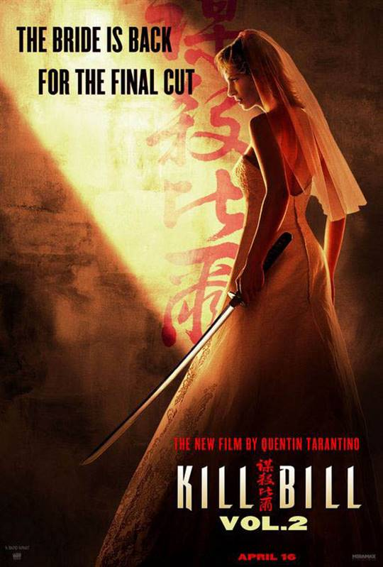 Kill Bill: Vol. 2 Large Poster