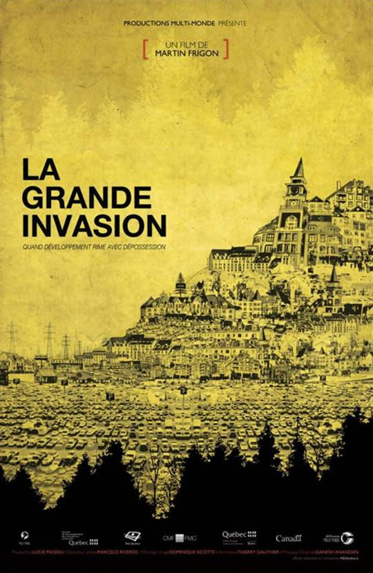 La grande invasion Large Poster