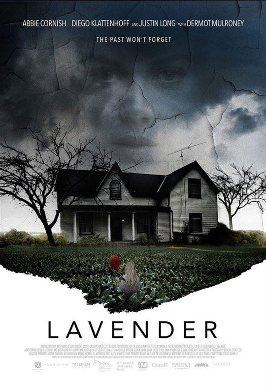 Lavender Large Poster