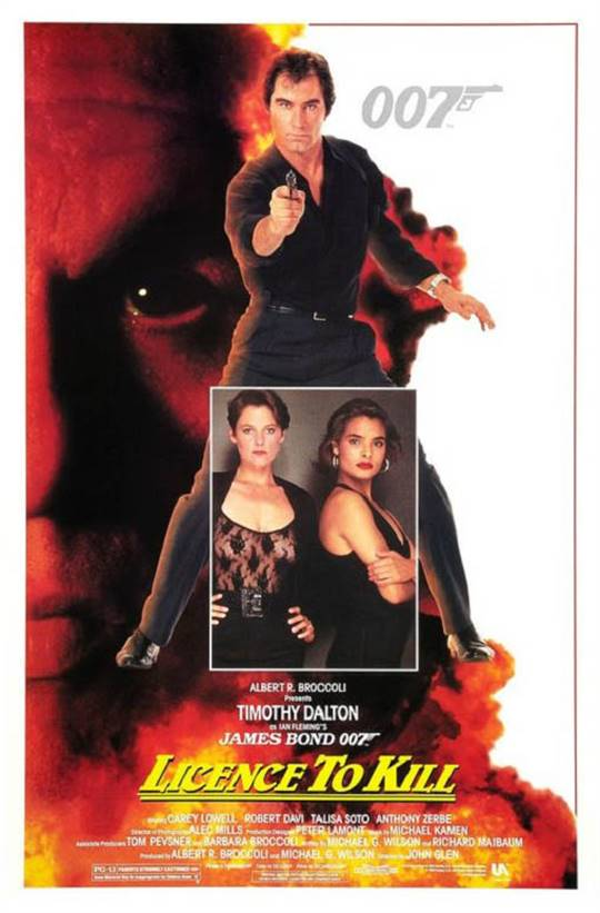 Licence To Kill Large Poster