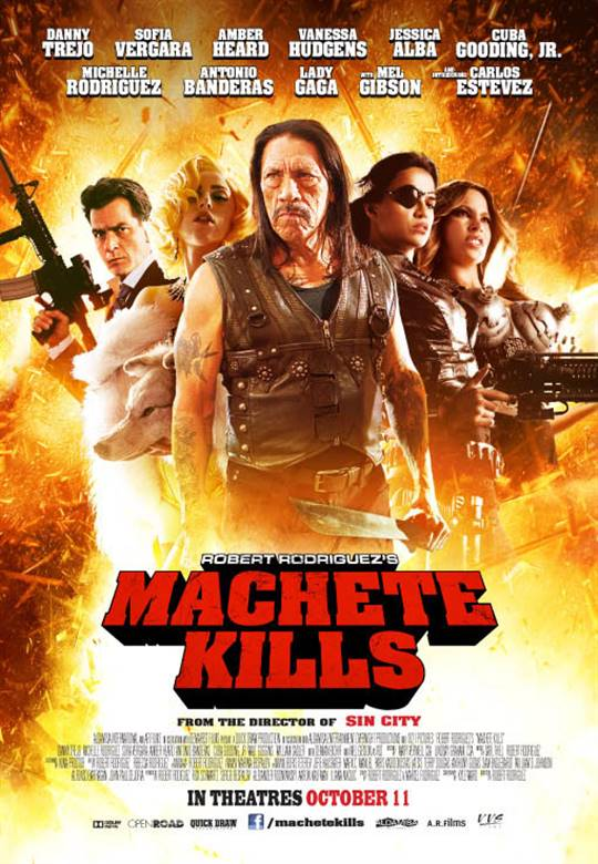 Machete Kills Large Poster