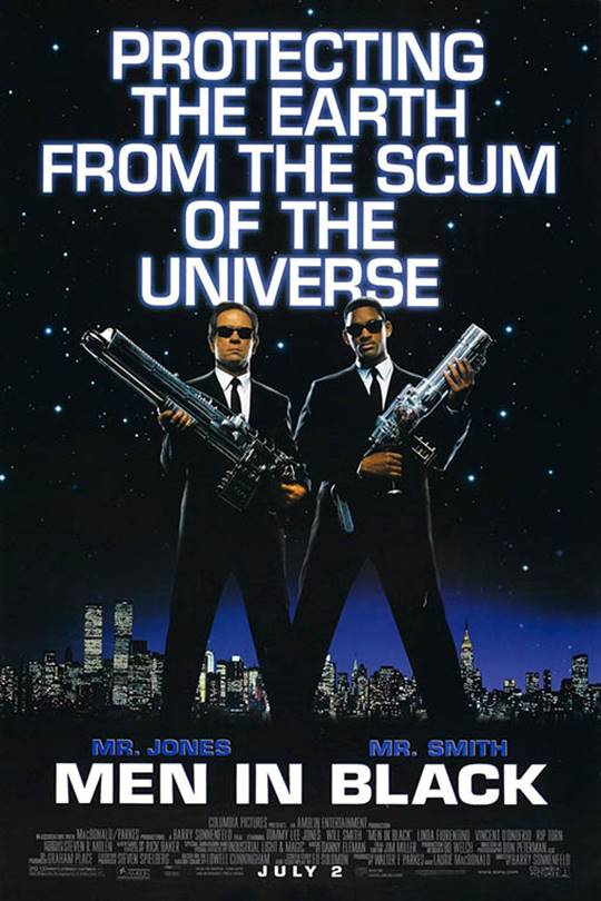 Men in Black Large Poster