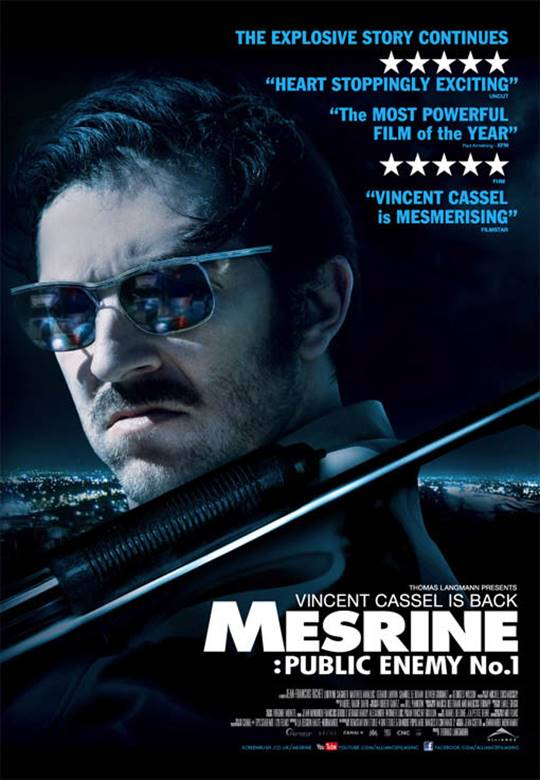 Mesrine: Public Enemy No. 1 Large Poster