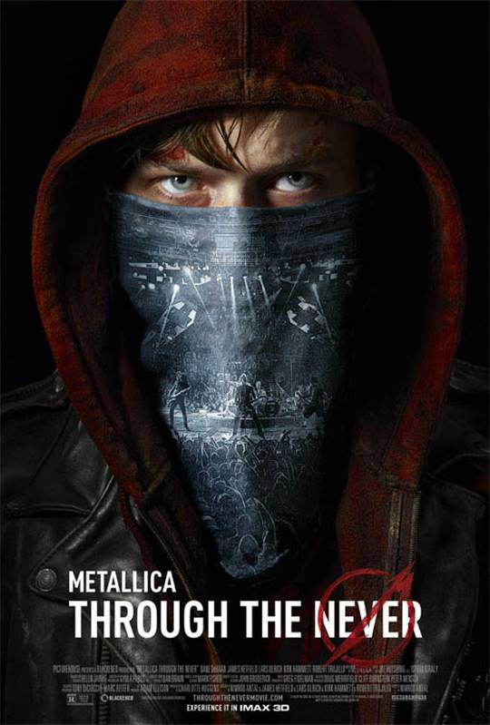 Metallica Through the Never Large Poster