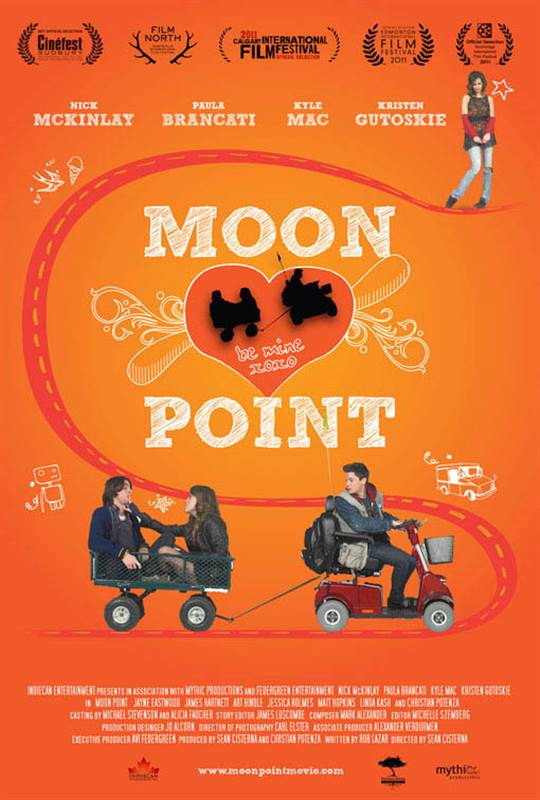Moon Point Large Poster