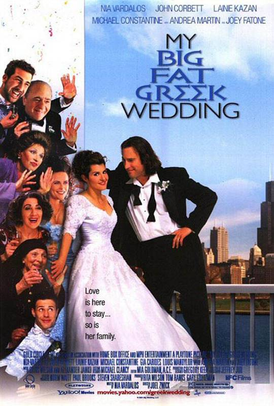 My Big Fat Greek Wedding Large Poster