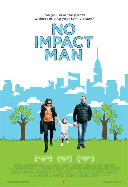 No Impact Man Large Poster