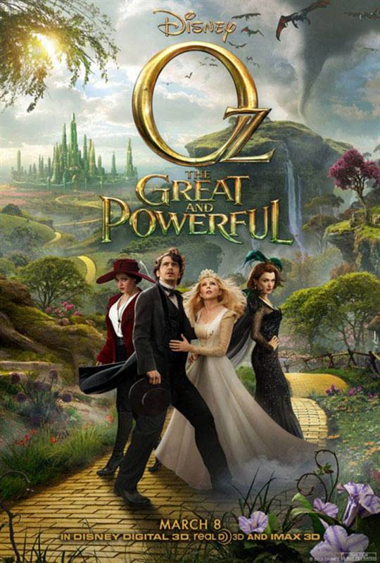 Oz The Great and Powerful Large Poster