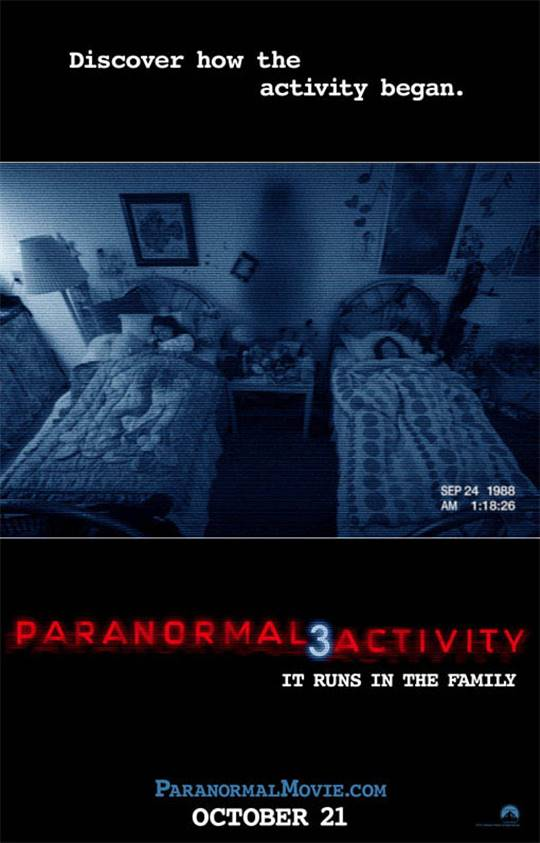 Paranormal Activity 3 Large Poster
