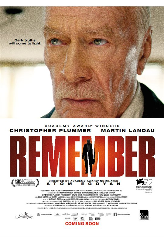 Remember Large Poster