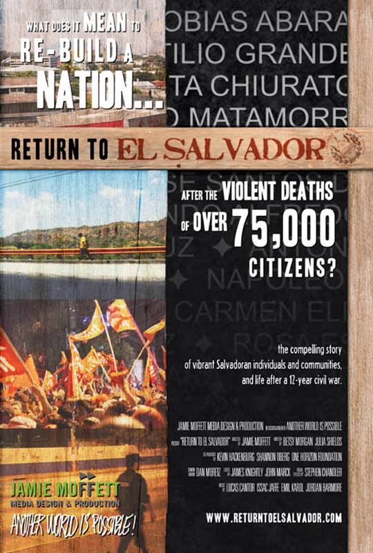 Return to El Salvador Large Poster